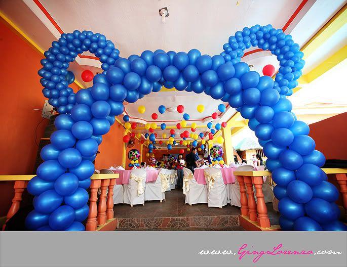 Balloon Decoration For Birthday My Birthday Pinterest Teddy