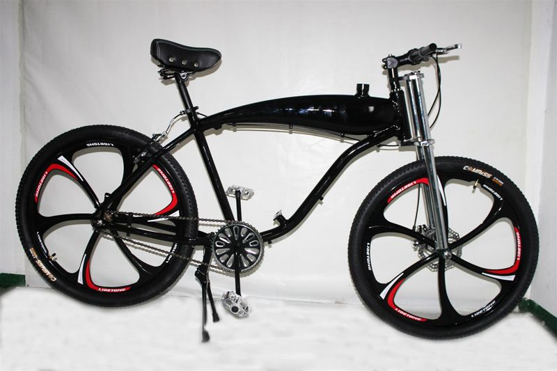 Zeda Angel Roller V2 Engine Ready Motorized Bicycle   Built In Gas Tank