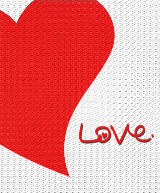 The Symbol Of Valentines Day The Big Heart Hearts Romance And