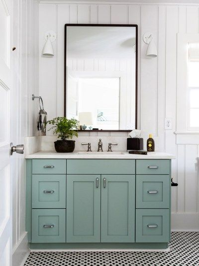 Beautiful Ready To Paint, But What Color? Bathroom Vanity ...