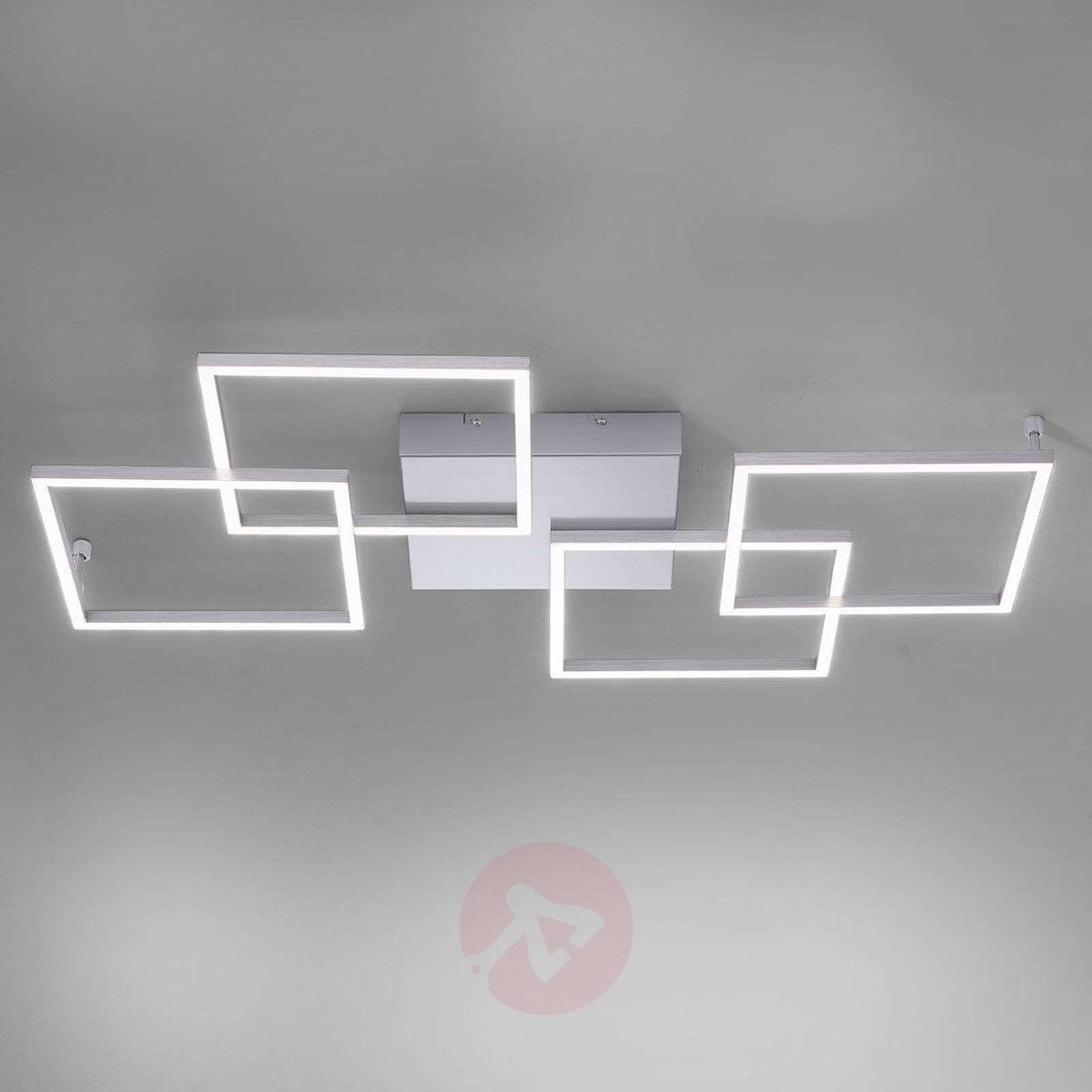 ściemniana Lampa Sufitowa Led Quadra 4 Punktowa Lampy