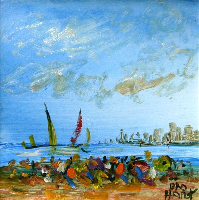 Pro Hart Sydney Beach Australian Art Art Australian Artists