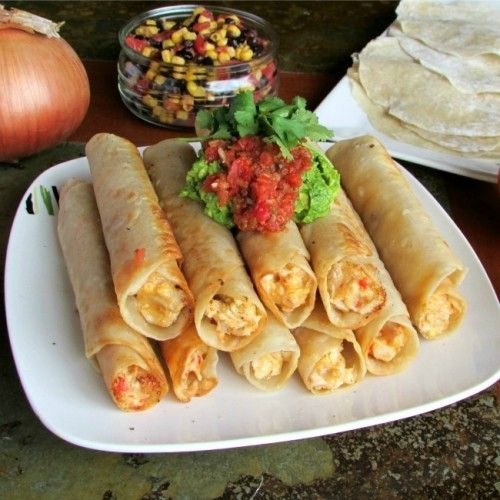how to make taquitos with corn tortillas