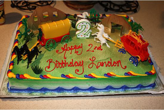 Planning a themed birthday party Cowboy birthday cakes Cowboy