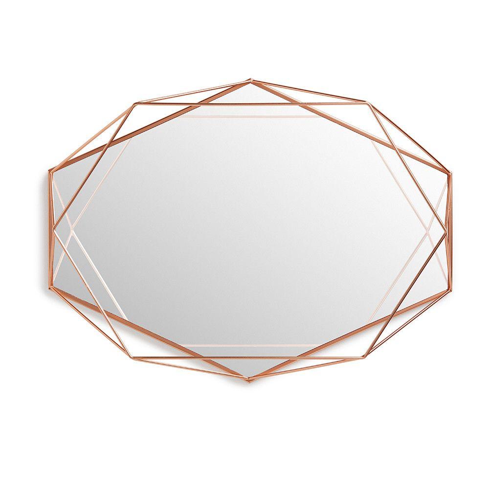 Umbra - Miroir Prisma - Cuivre