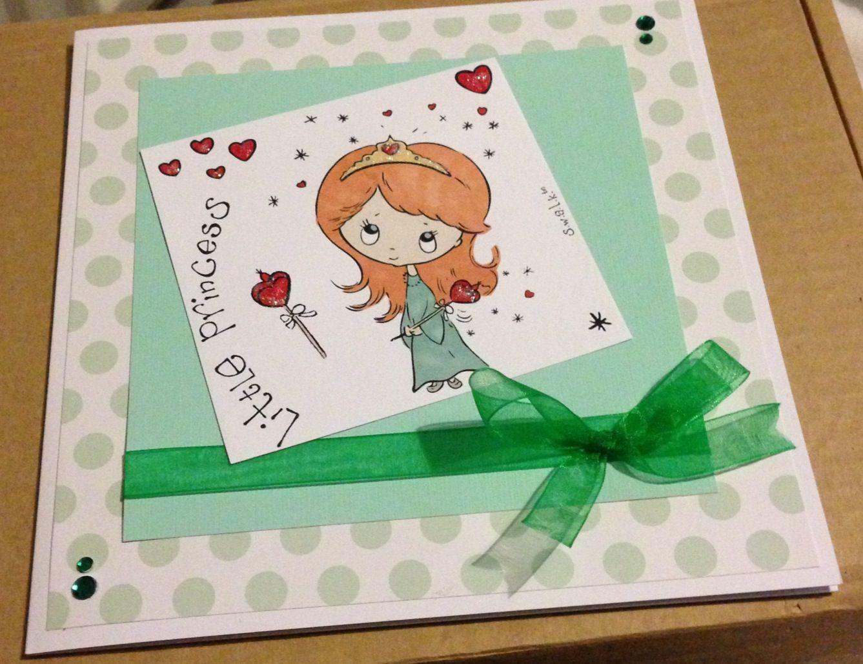 Birthday card - little princess!