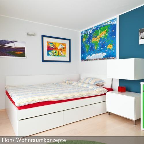 Wohnideen Jugendzimmer Fussball weiße möbel im jugendzimmer 2 jugendzimmer weiße möbel und fuß