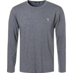 Gant Langarm-Shirt Herren, Baumwolle, grau Gant #trendyoutfits