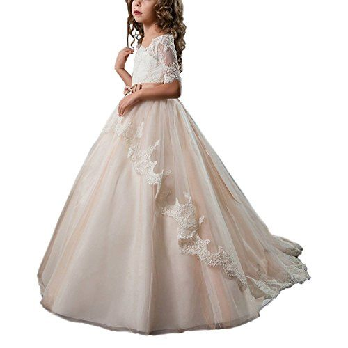 940e768639 Pin by AbaoWedding on First Communion Dress