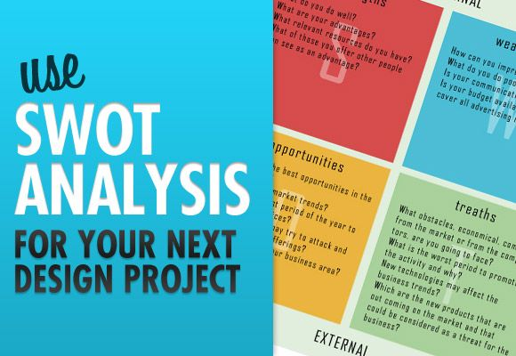 use swot analysis for your next design project swot