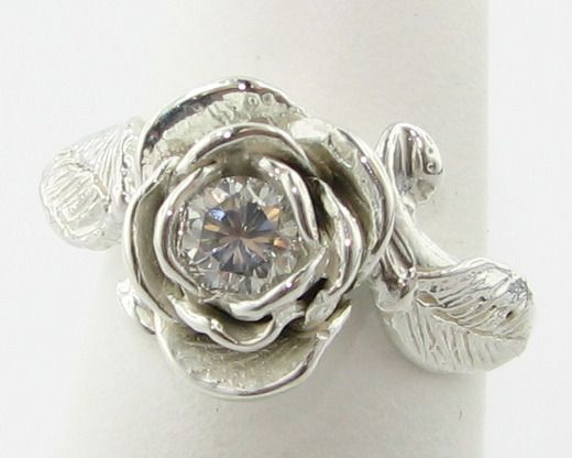Wexford Single Rose Ring This Is So Beautiful