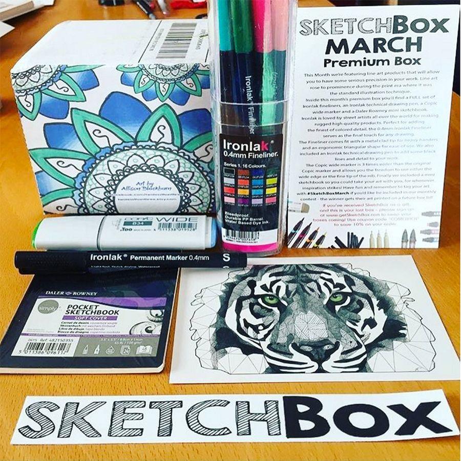 Sketchbox Shop Product Sketch Box Subscription Boxes Best
