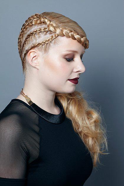 Runner up - NZARH Regional Hairdressing Awards 2014 Hair: Larrisa Roberts Makeup: Peter Wang Model: Weibke Muljholf
