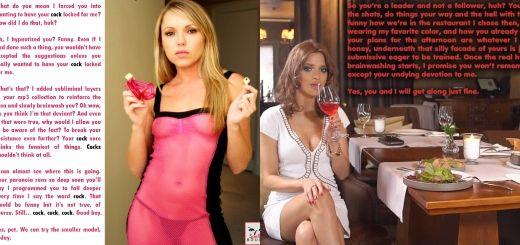 Sexy femdom girl brainwash captions pinterest much regret