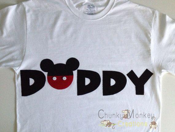 PERSONALIZED: Mommy Minnie Mouse & Daddy Mickey by ChunkyMonkeyC