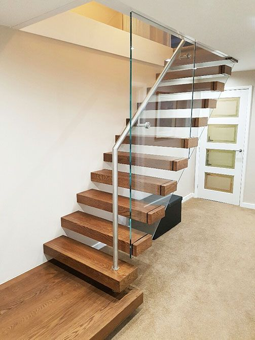 Bradgate Cantilever Floating Gl Stair