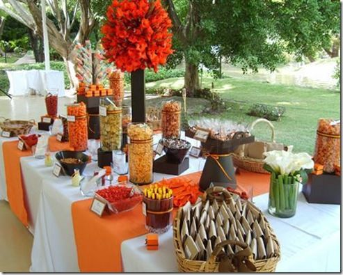 Mexican Wedding Candy Bar Wedding Food Catering Dessert Table