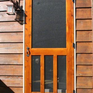 Rescreening A Wooden Screen Door & Rescreening A Wooden Screen Door | http://frontshipbroker.com ...