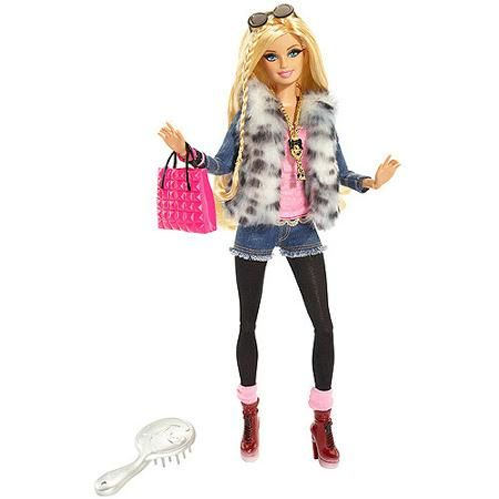 Barbie Glam Luxe Fashion Barbie Doll