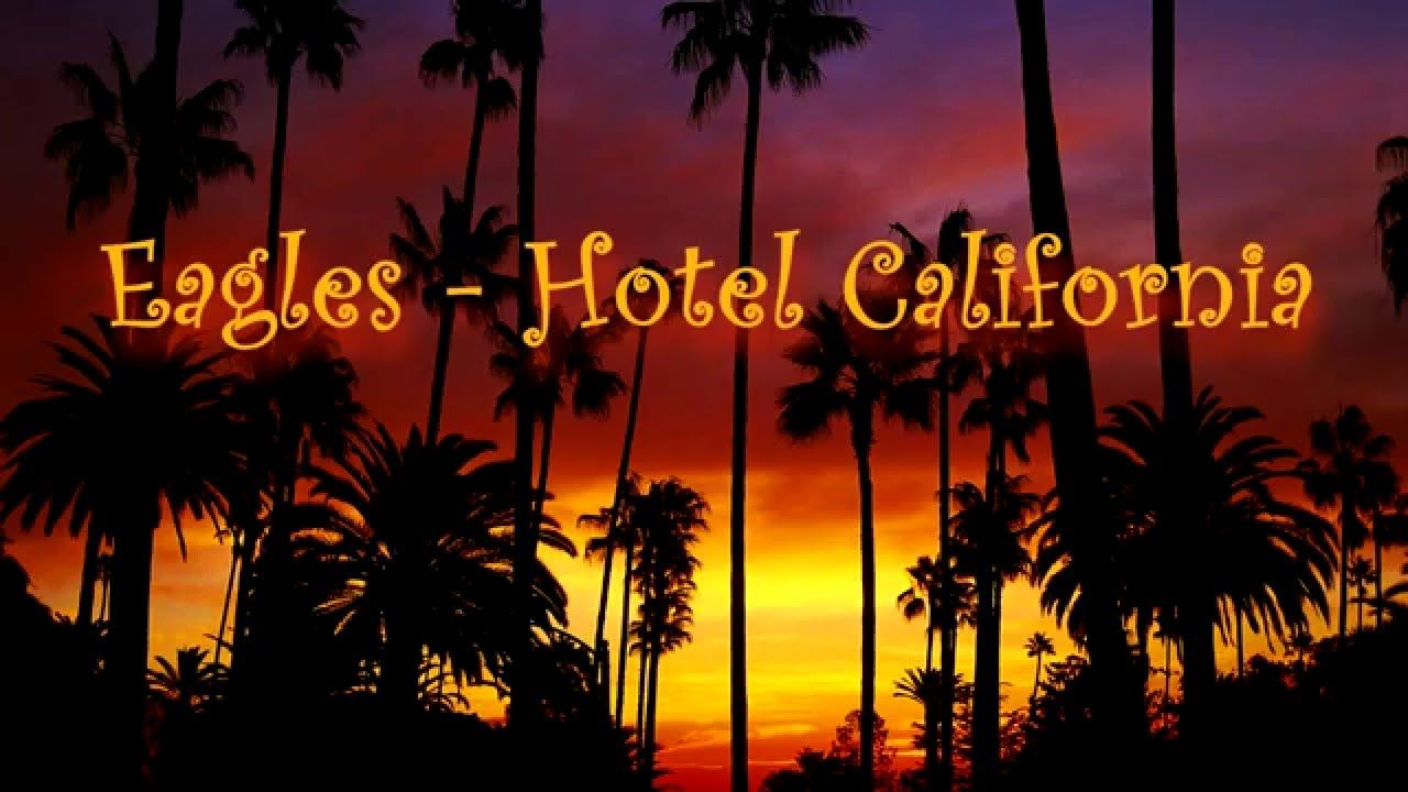 Eagles hotel california lyrics 1976 hd musica for Hotel california