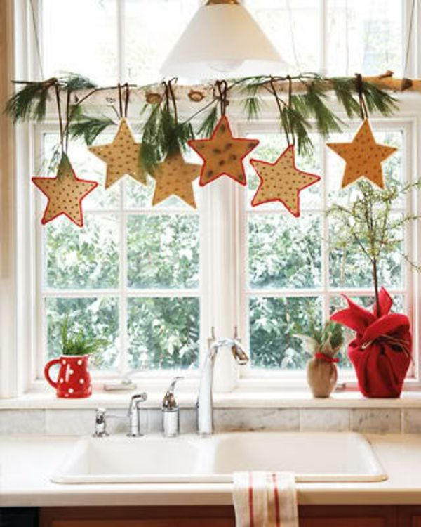 xmas decorations for a curtain pole - Google Search christmas
