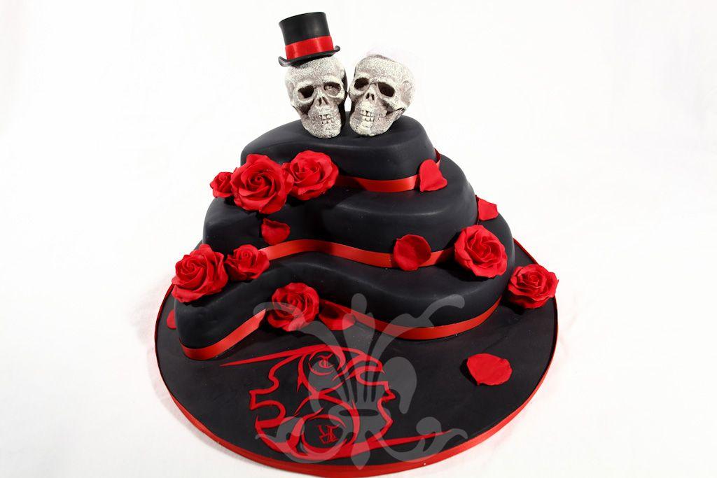 Gothic Wedding Cakes Hochzeitstorte Gothic Wedding Rita The