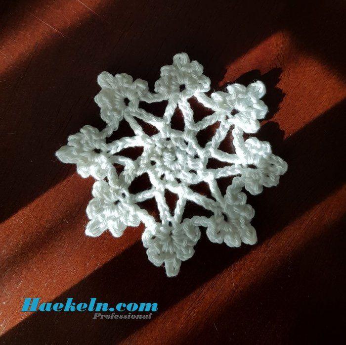 Schneeflocke Elsa Häkeln Weihnachten | Häkeln | Pinterest | Pdf
