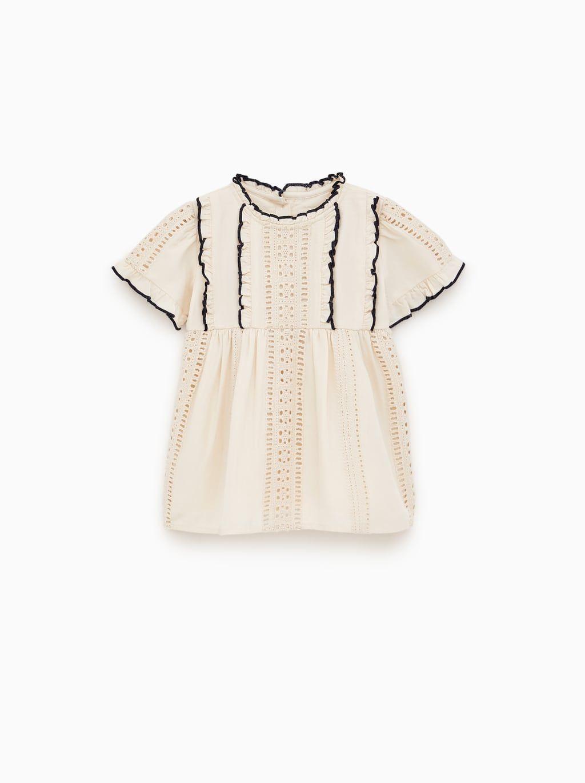 794e167557 Schiffli dress | Baby Girl | Dresses, Baby girl dresses, Zara dresses