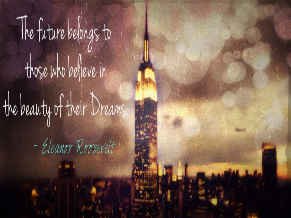 """Eleanor Roosevelt Quote: """"In our country we must trust the ...  