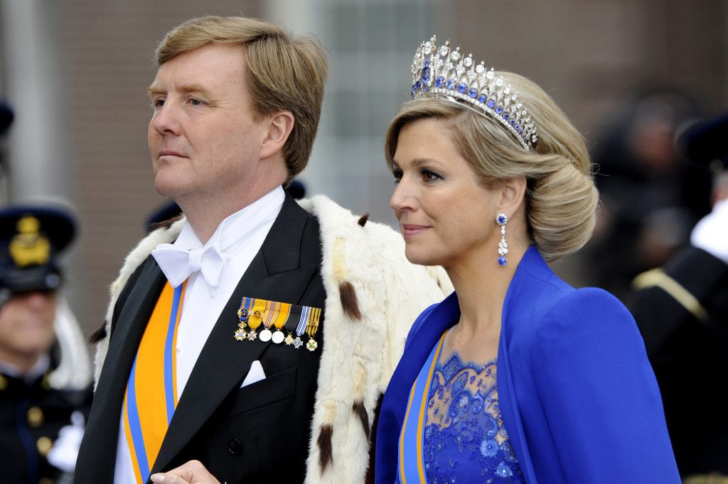 Queen Maxima - Guests at the Inauguration of King Willem-Alexander