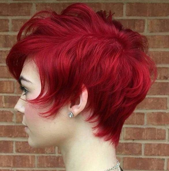 9 rote kurze haare stil kurze haare pinterest kurze haare rot und haar. Black Bedroom Furniture Sets. Home Design Ideas