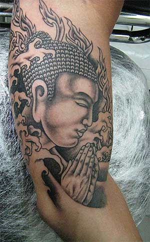 Buddha Tattoos And Their Meanings Http Www Tattoodesigsnideas