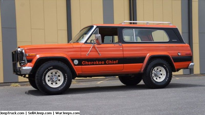 79 Jeep Cherokee Chief 48k Original Miles Survivor Jeep
