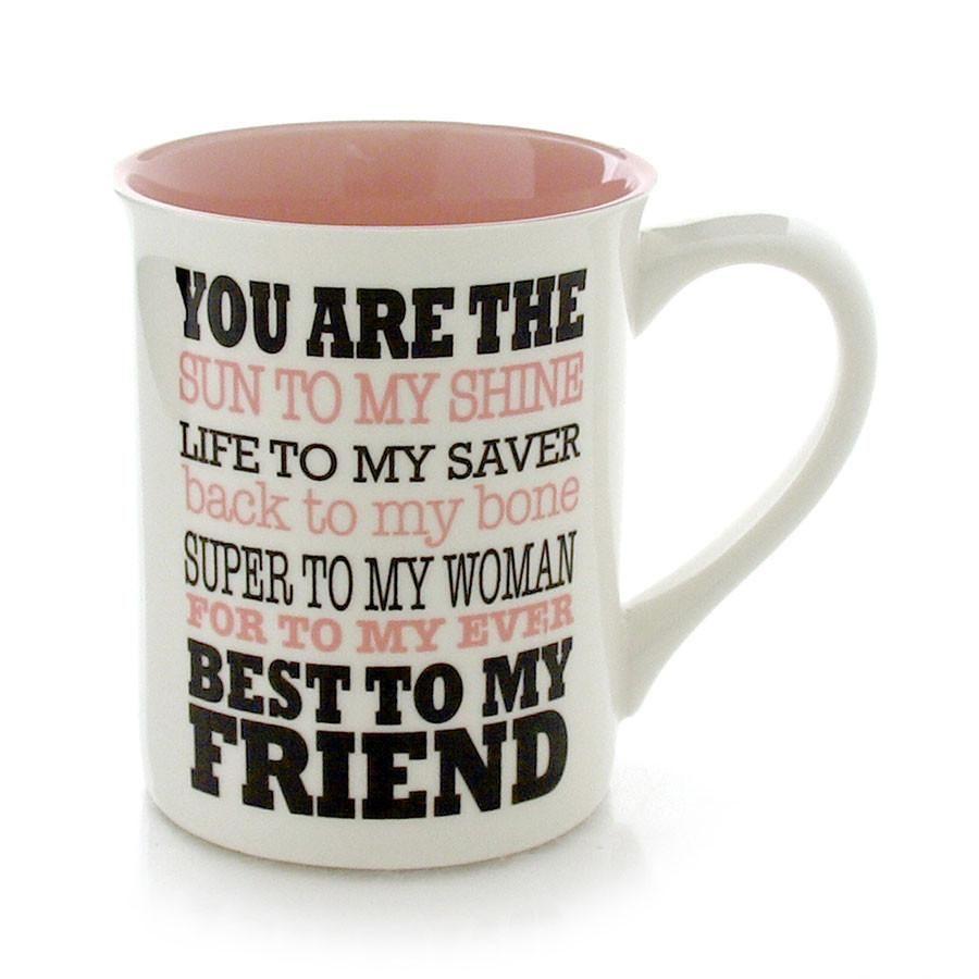 Bff best to my friend mug friend mugs mugs best amazon