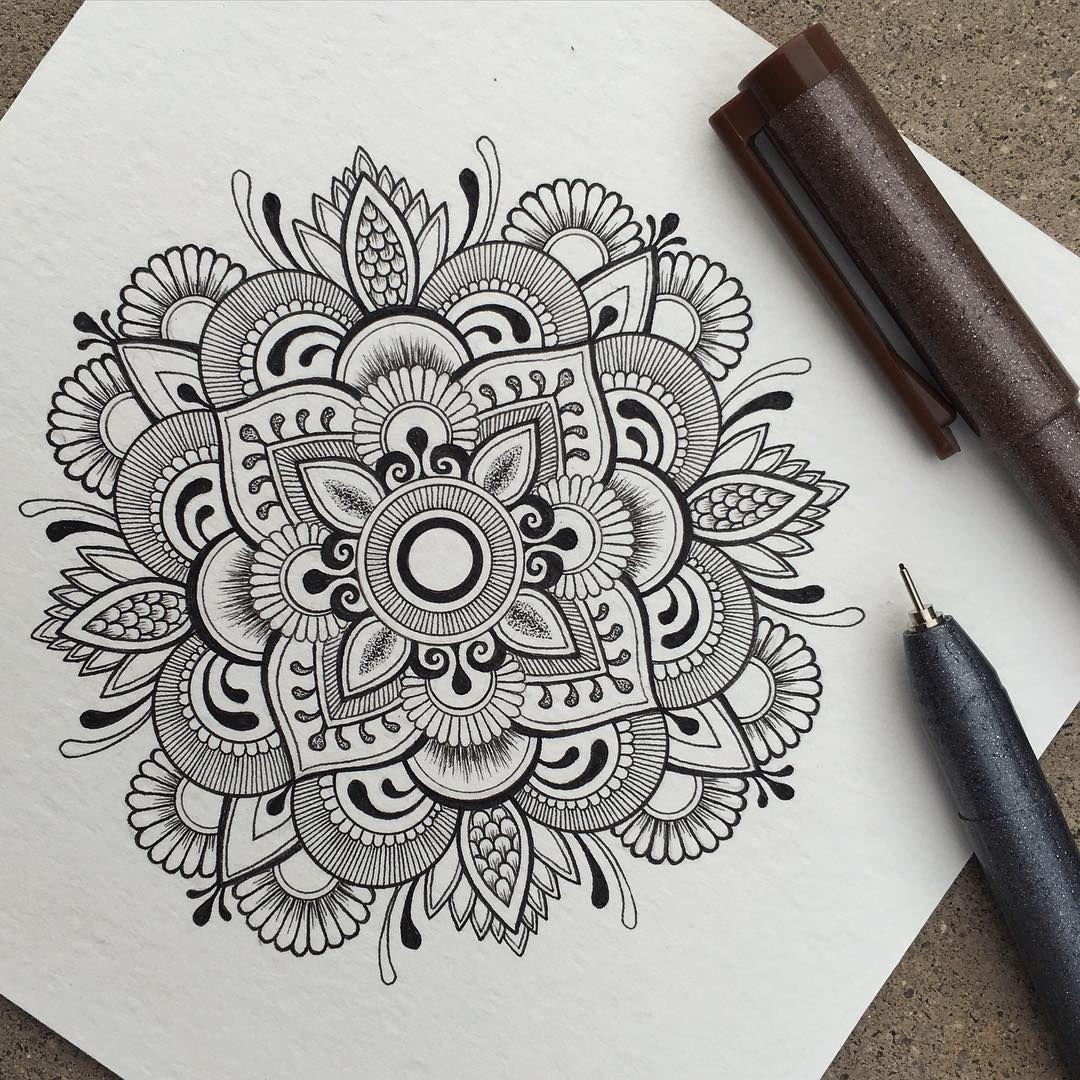 how to make a mandala design