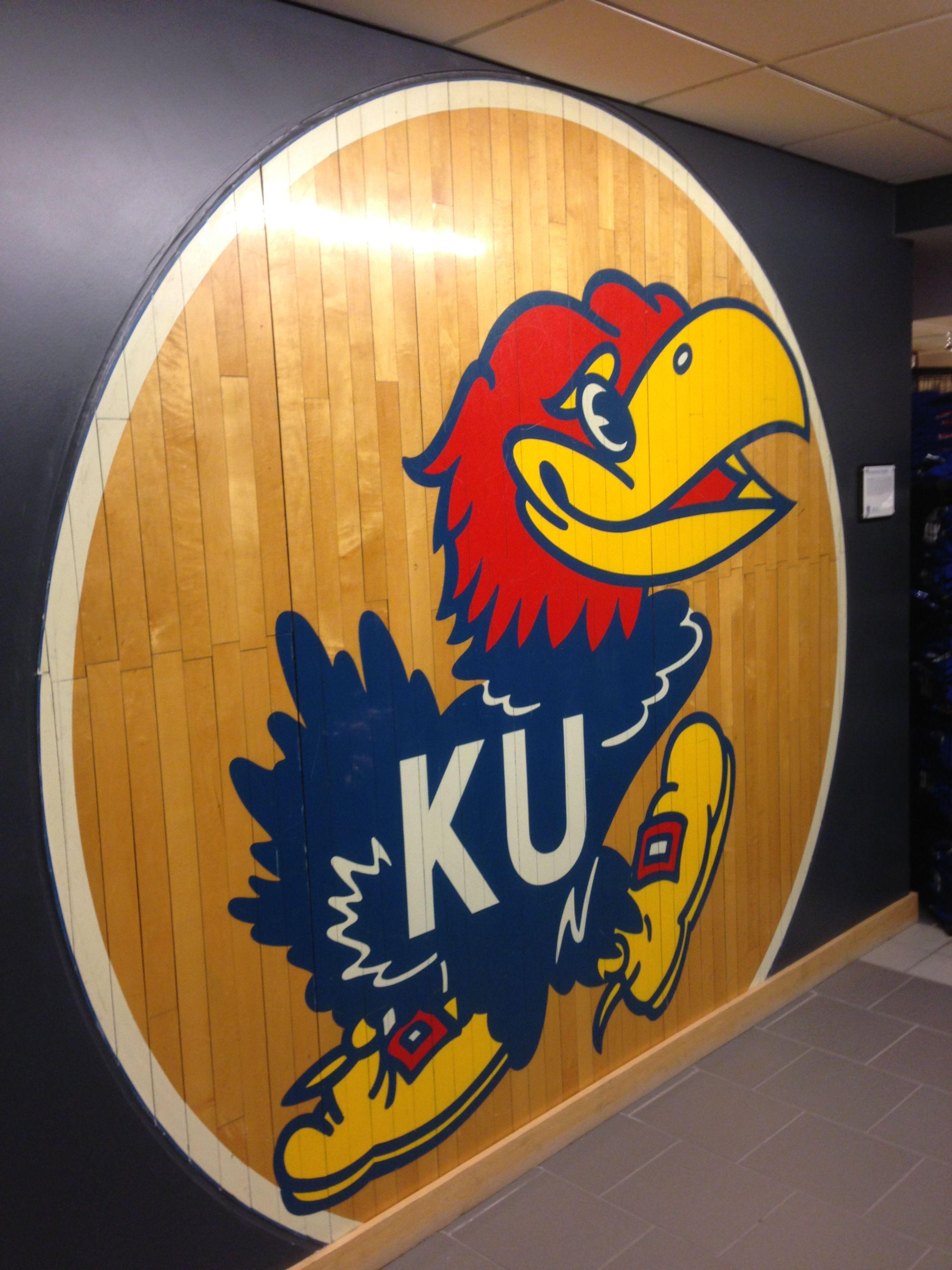 Jayhawk Basketball Floor Student Union Wall Basketball Floor Kansas Jayhawks Kansas Basketball