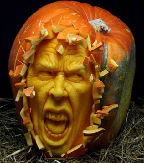 Citrouille Halloween Sculpture.Decouvrez D Incroyables Sculptures Sur Citrouilles En Images Amazing Pumpkin Carving Pumpkin Carving Awesome Pumpkin Carvings