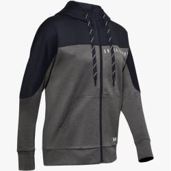 Photo of Under Armour Damen Ua Recover Strickshirt mit durchgehendem Zip Grau Xxl Under Armour