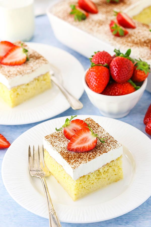 Easy Tres Leches Cake Recipe - Authentic Mexican Milk Cake!