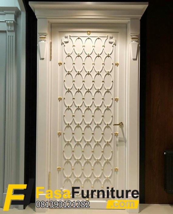 Set Pintu Kamar Tidur Klasik Minimalis Mewah Desain Kusen Pintu Kamar Tidur Ukiran Pintu Kamar Mini Home Door Design Bedroom Door Design Door Design Interior