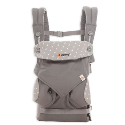 Ergobaby 4 Position 360 Baby Carrier In Dewey Grey Ergonomic Baby Carrier Ergobaby Carrier Baby Carrier