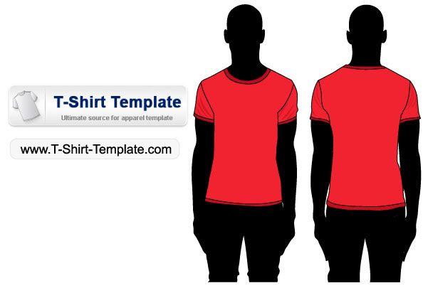 Download Short Sleeve T Shirt Template Shirt Template T Shirt Diy Shirts