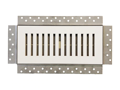 "4"" x 10"" Premium Flush Mounted Vent & Grille Cover"