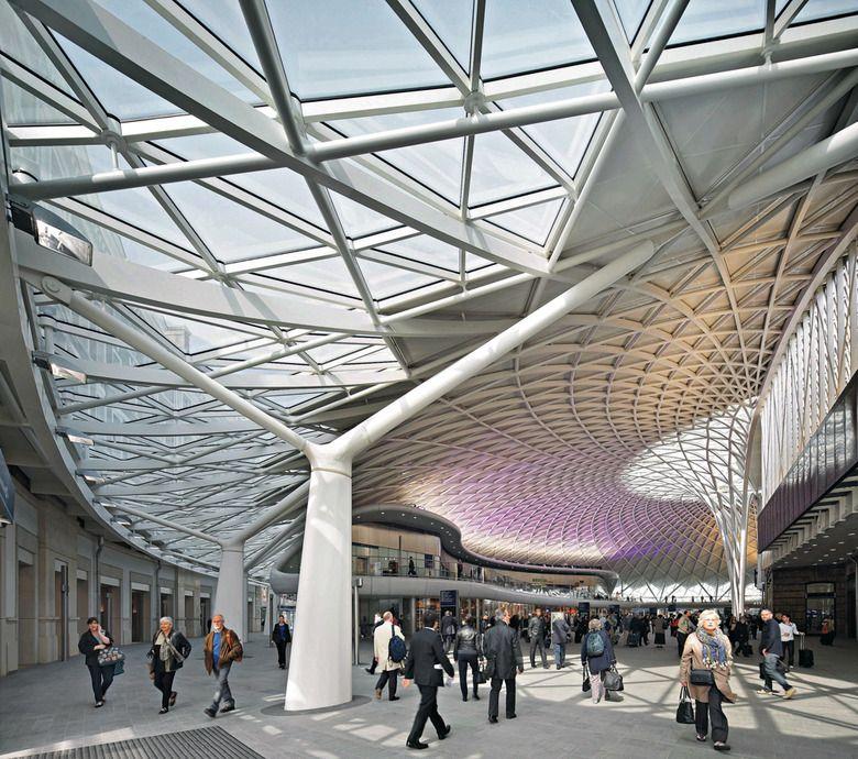 King S Cross Station In London Arquitetura E Urbanismo