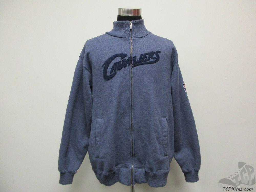 Reebok Cleveland Cavs Cavaliers Full Zip Sweatshirt Jacket