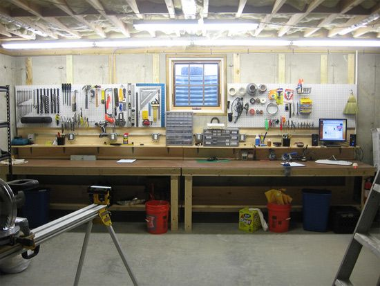 Image Detail For Jewel Some Man Room Maniac Decided To Build The Ultimate Work Bench