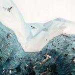 Laura Plageman es una artista que juega con lo real y la distorsión de la naturaleza mediante collages fotográficos.