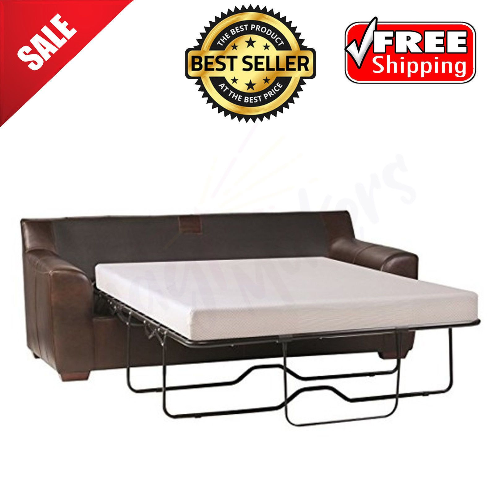 Sleep Master Cool Gel Memory Foam 5 Sleeper Sofa Mattress