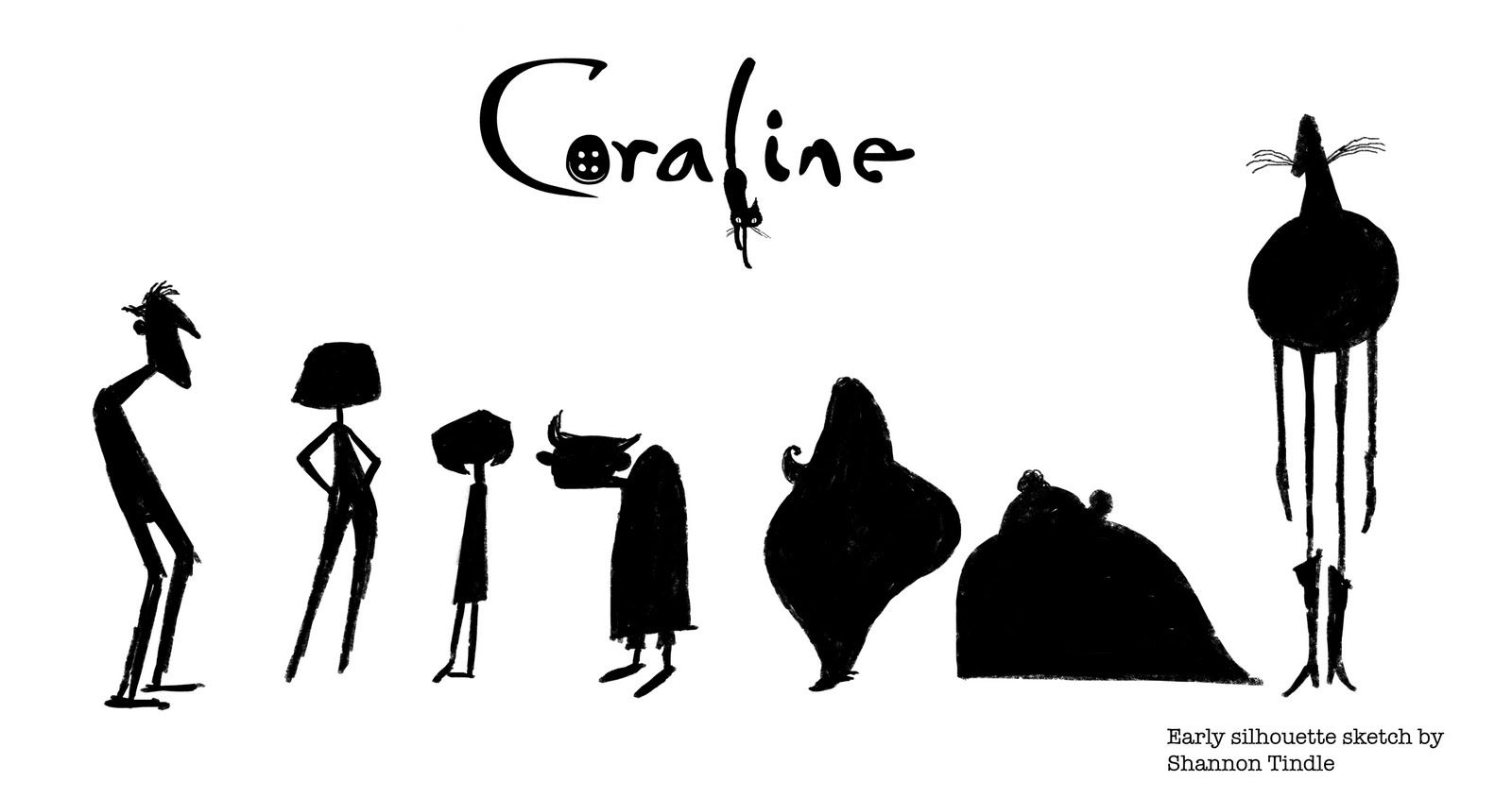 Living Lines Library Coraline 2009 Character Design Coraline Coraline Characters Character
