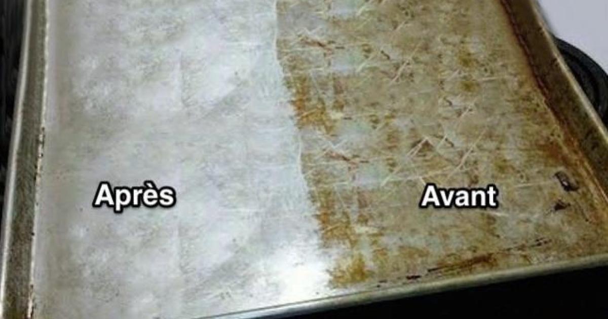 super efficace d couvrez l 39 astuce pour nettoyer sans frotter votre vieille plaque biscuit. Black Bedroom Furniture Sets. Home Design Ideas